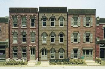 DPM Townhouse Flats HO scale building kit