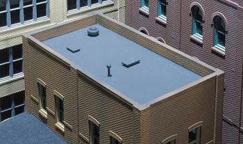 DPM HO scale roof & trim kit 301-90