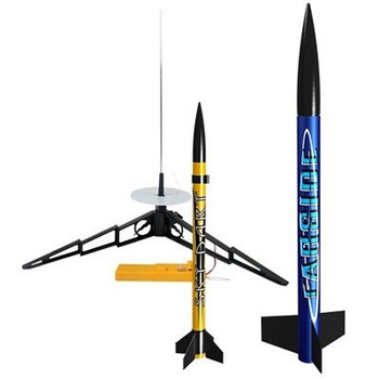 Estes Solar Scouts flying model rocket launch set 1475