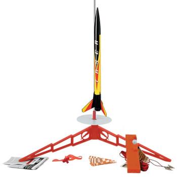 Estes Taser flying model rocket launch set 1491