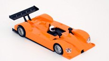 Hobby Slot Racing Courage C60 Racing complete kit - Orange 40009