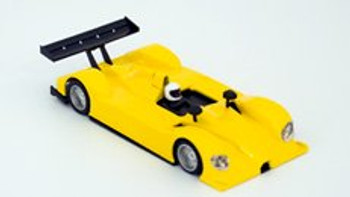 Hobby Slot Racing Courage C60 Racing Complete Kit - Yellow 40010