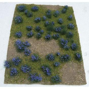 JTT Flowering Meadow HO Scale Purple 95606