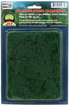 JTT Green Foliage-Fiber Clusters Medium 95067