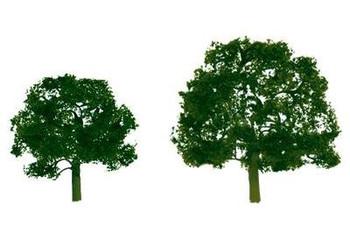 JTT Premium 3 to 3.5 Walnut Trees (2) 92053