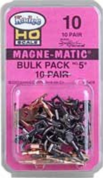 Kadee HO no. 5 metal couplers bulk pack - 10 pair #10