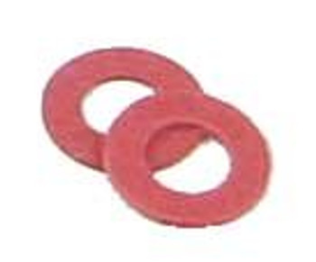 Kadee HO #208 Red Insulating Fiber Washers (48)