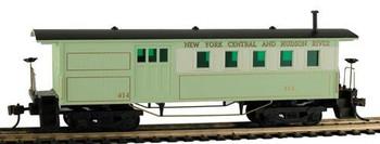 Mantua Classics HO NYC & Hudson 1860 wooden passenger combine car