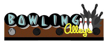 Miller Engineering Bowling Alleys animated billboard 7081