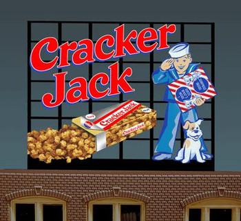 Miller Engineering Cracker Jack animated billboard 44-0102