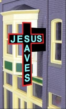 Miller Engineering Jesus Saves animated billboard 9071