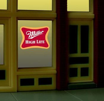 Miller Engineering Miller animated window sign 7777