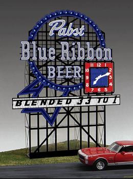 Miller Engineering Pabst Blue Ribbon animated billboard 4081