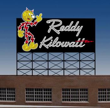 Miller Engineering Reddy Kilowatt animated billboard 3681