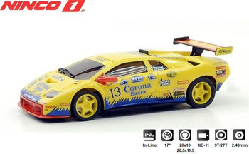 NINCO 1 Lamborghini Diablo GTR Corona 1/32 Slot Car 55013