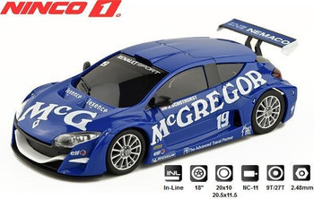 NINCO 1 Renault Megane Trophy McGREGOR 1/32 slot car 55021