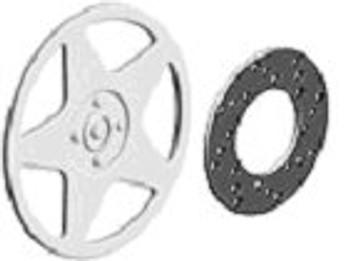 Ninco 80725 ProRace 15 Speedline Hubcaps & Brake Discs (4)
