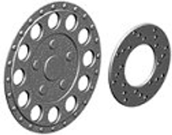 Ninco 80728 ProRace 15'' Sturdy Hubcaps & Brake Discs (4)