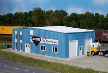Pikestuff Diamond Tool & Engineering HO scale  building kit 541-0018