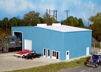 Pikestuff HO scale distribution center kit 541-0010