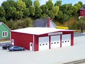Pikestuff HO fire station 541-0192