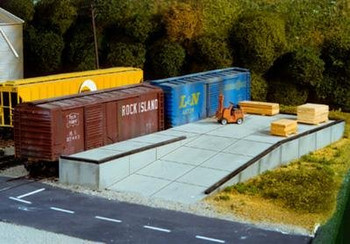 Pikestuff HO Modular Loading Docks 541-0017