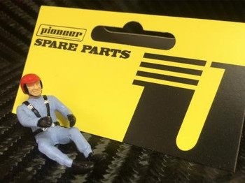 Pioneer Slot Car Driver Figure