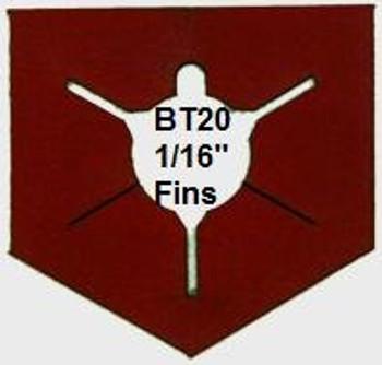 BT20 3 Fin Alignment Guide