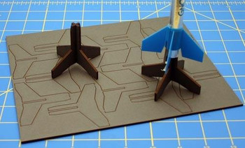 13mm Model Rocket Stands