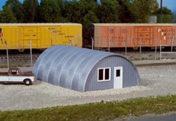 Rix HO scale Quonset Hut building kit 628-0410
