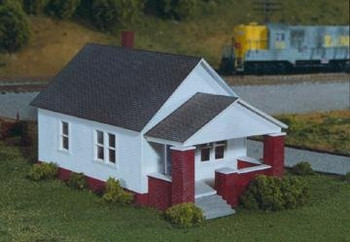Rix HO scale Maxwell Avenue home with porch 628-0202