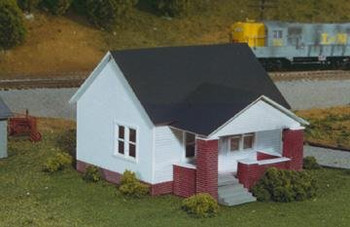 Rix Smalltown USA HO scale Maxwell Avenue home with side porch kit 628-0203