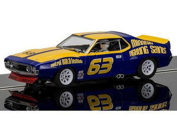Bill Collins must have had a big smile on his face as he competed in his AMC Javelin Trans AM Jockos race car. Now you can enjoy the same feeling with this highly detailed Scalextric 1:32 slot car.