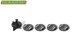 Scalextric guide blade and braid plates C8329