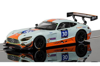 Scalextric Mercedes AMG GT3 Gulf 1/32 slot car