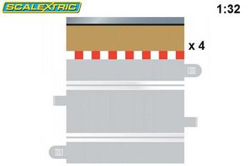 Scalextric half straight border C8223