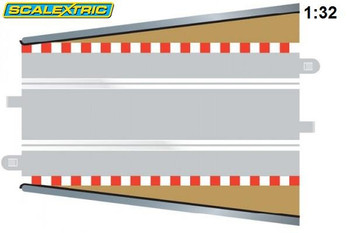 Scalextric straight lead in / out border C8233