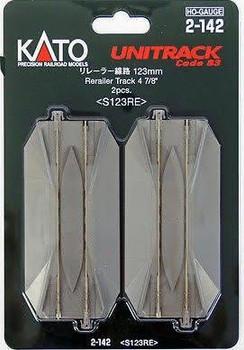 KATO Unitrack HO 4 7/8 inch rerailer track 2-142