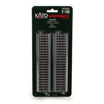 KATO Unitrack 6 7/8 inch HO scale straight track 2-130