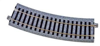 KATO Unitrack HO 14 9/16 inch radius 22.5 degree curve track 2-280