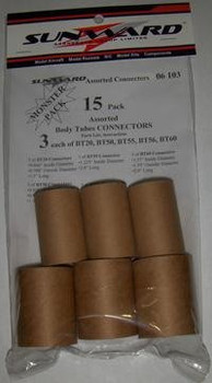 Sunward Assorted Tube Couplers