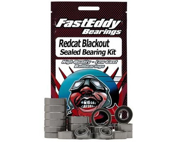 Fast Eddy Redcat Racing RC Blackout sealed ball bearing kit TFE4484