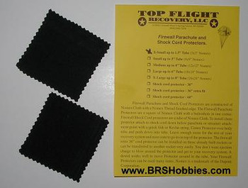 Top Flight Recovery 3 x 3 in parachute protectors