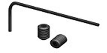 Ninco 80916 ProRace M2x3 & M2x3 Set screws (12) w/ 0.9 mm Hex L-Key