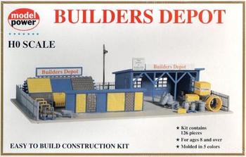 Model Power Builders Depot HO Scale Kit 418