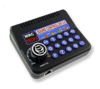 MRC Tech 6 sound controller 2.0 HO power pack 1200