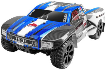Redcat Racing Blackout SC brushed 4x4 1/10 RC short course truck blue
