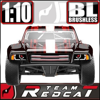 Team Redcat TR-SC10E brushless 4X4 1/10 RC short course truck