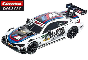Carrera GO BMW M4 DTM Blomqvist 1/43 slot car 20064108