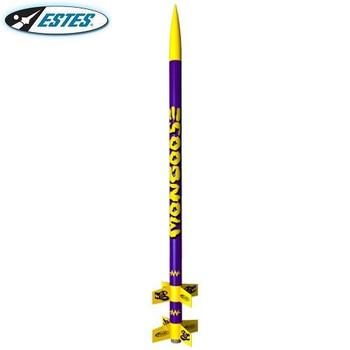Estes Mongoose flying model rocket kit 2092